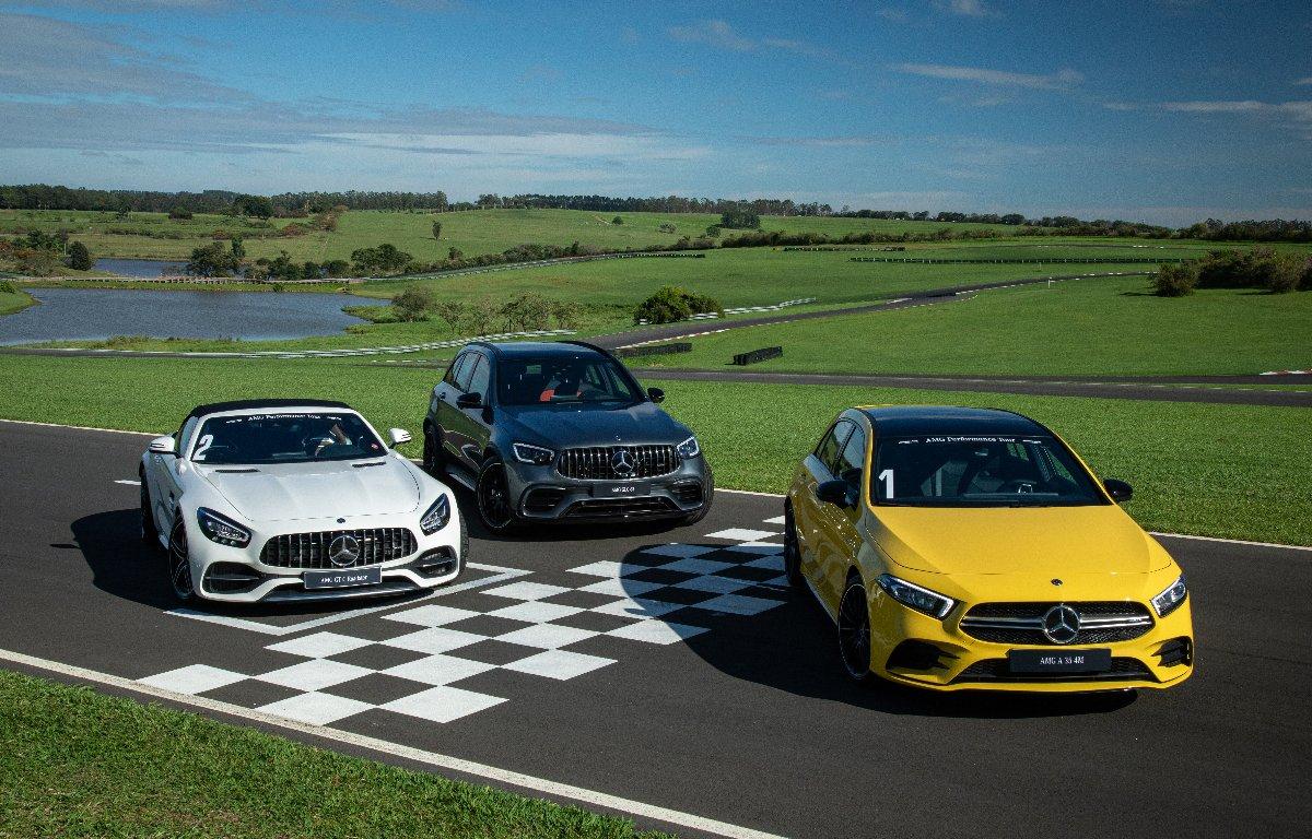 Imagem ilustrativa da notícia: Mercedes-Benz lança três modelos AMG no Brasil