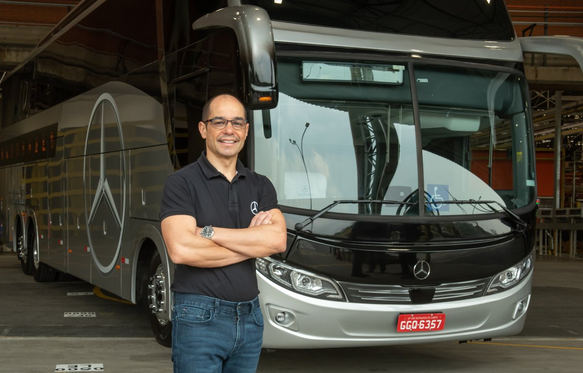 Imagem ilustrativa da notícia: Mercedes-Benz melhora sua projeção para venda de ônibus