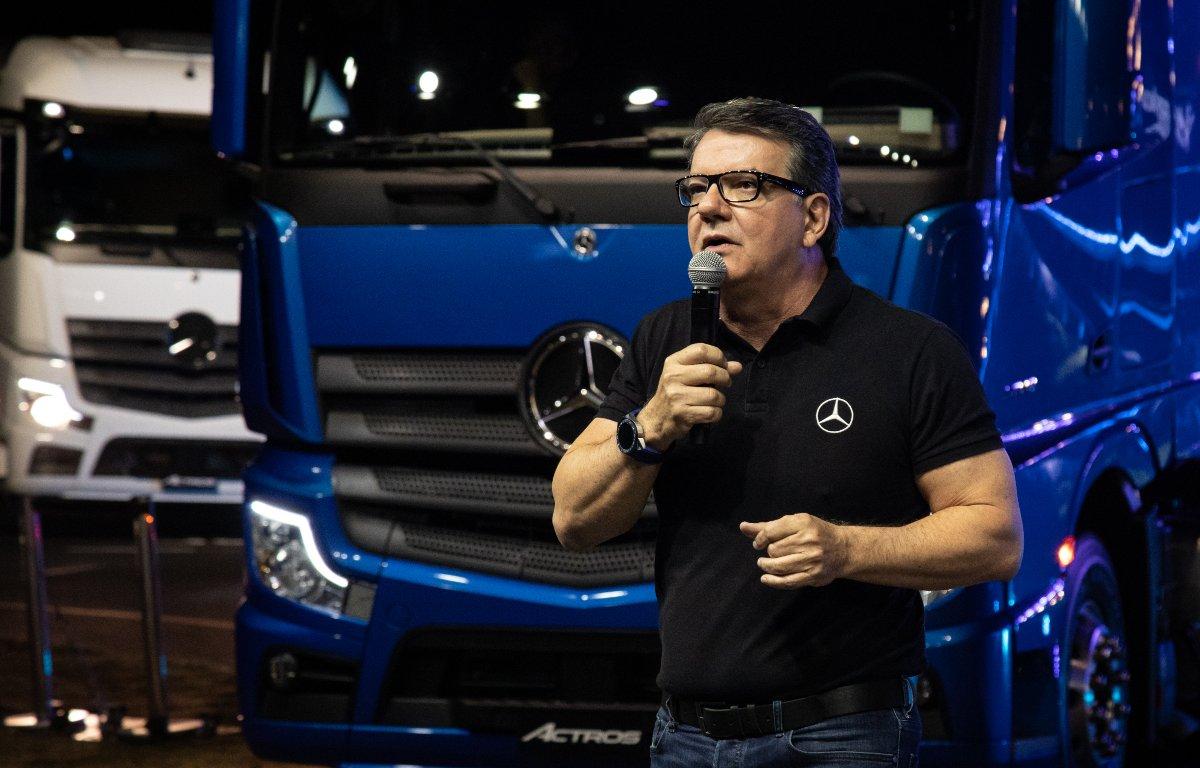 Imagem ilustrativa da notícia: Mercedes-Benz nacionalizará o câmbio do novo Actros
