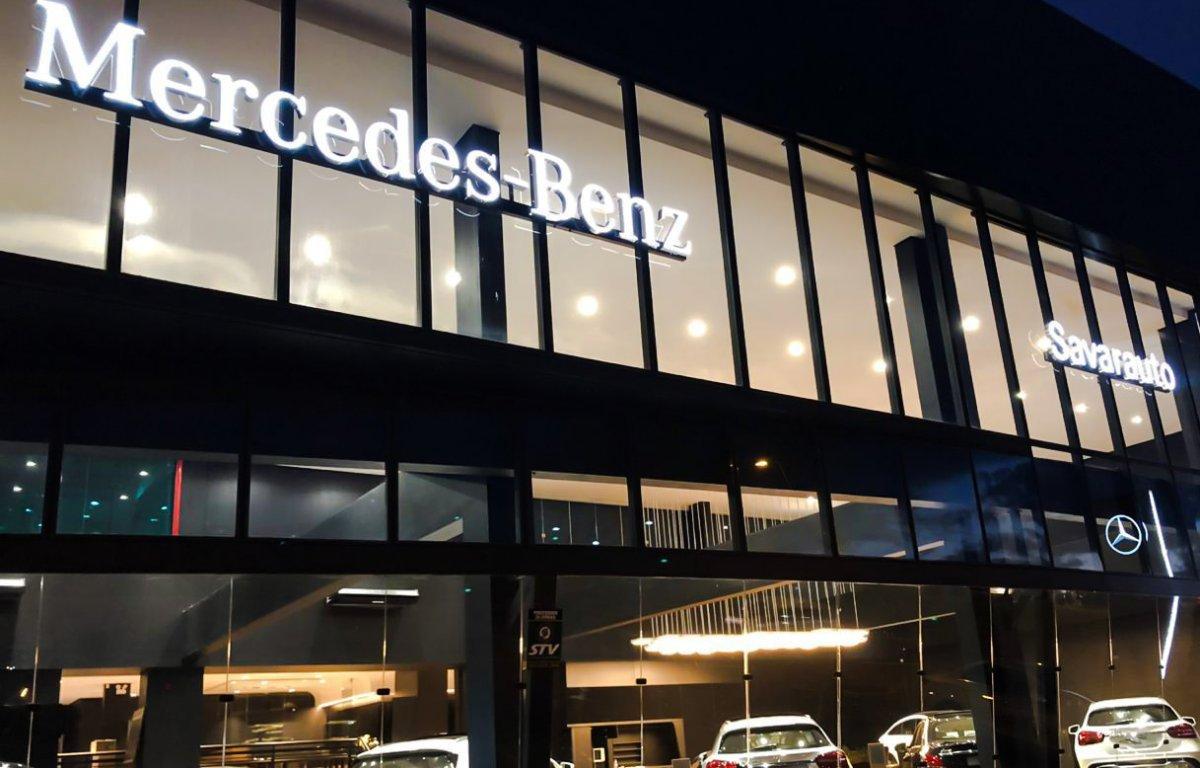 Imagem ilustrativa da notícia: Mercedes-Benz reinaugura concessionária no Sul