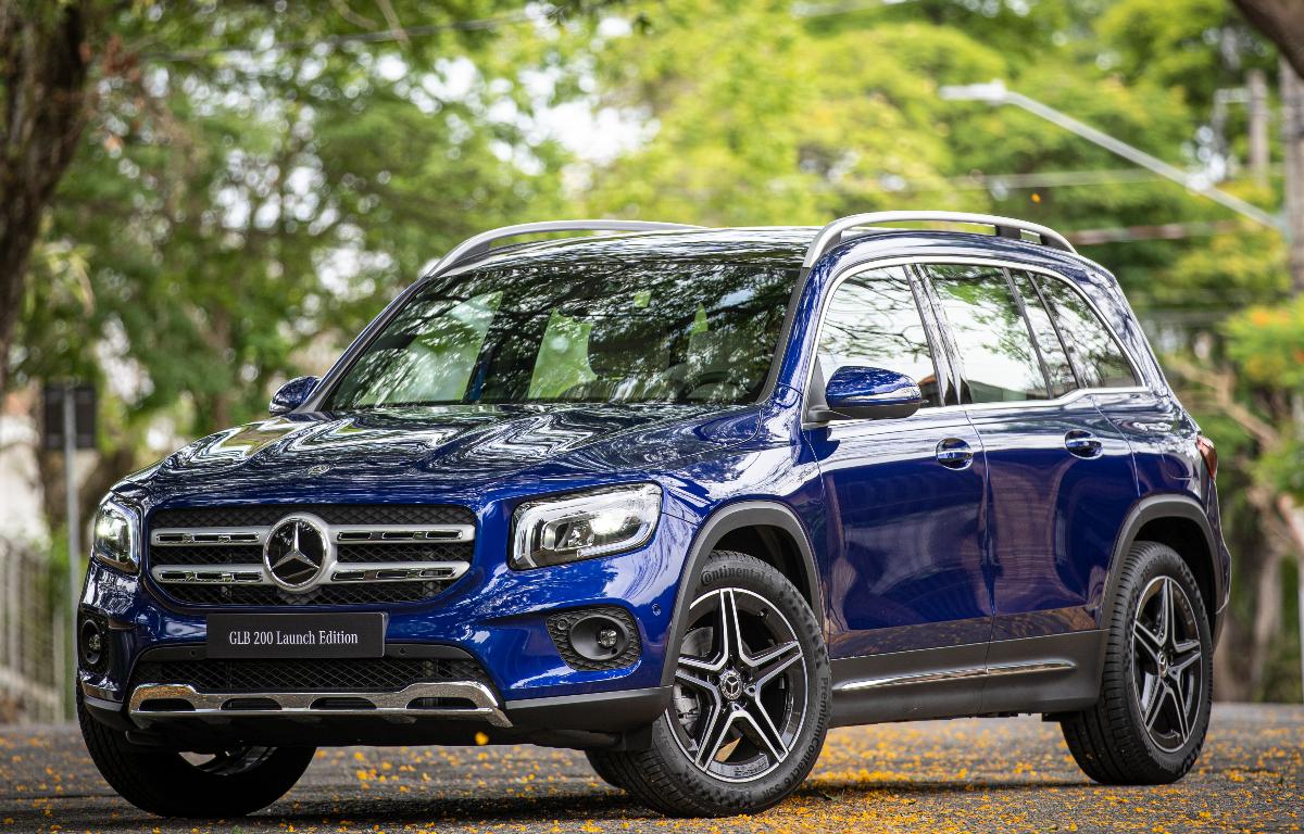 Imagem ilustrativa da notícia: Mercedes-Benz segue a renovação de SUVs com GLB 200