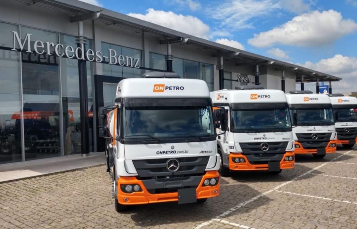 Imagem ilustrativa da notícia: Mercedes-Benz vende 22 caminhões para a On Petro