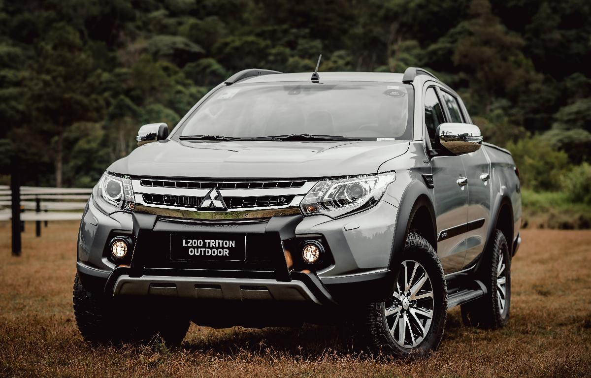 Imagem ilustrativa da notícia: Mitsubishi L200 Triton 2021 ganha o nome Outdoor
