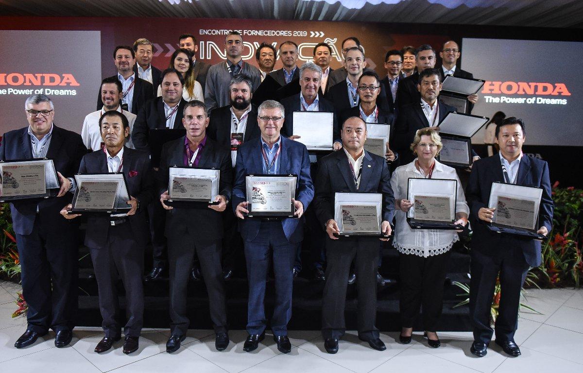 Imagem ilustrativa da notícia: Moto Honda premia seus melhores fornecedores