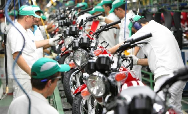 Imagem ilustrativa da notícia: Produção de motocicletas cresce 37%