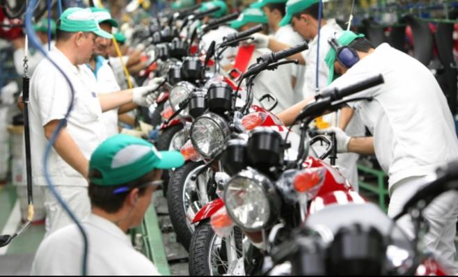 Imagem ilustrativa da notícia: Expansão de 24% na produção de motos
