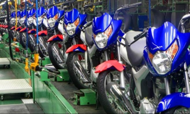 Imagem ilustrativa da notícia: Motos: em jan-mar produção cresce 12,2% e vendas 4%.