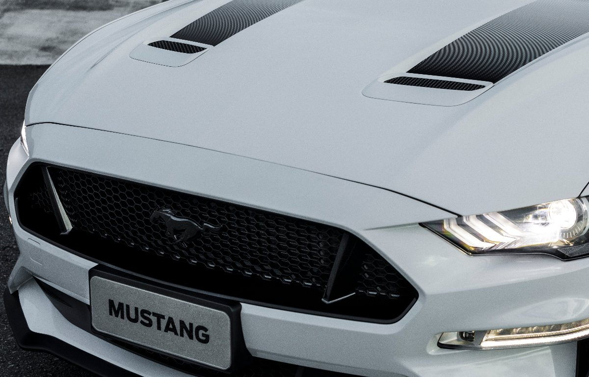Imagem ilustrativa da notícia: Mustang Black Shadow será vendido no Brasil