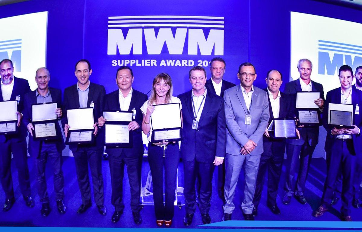 Imagem ilustrativa da notícia: MWM reconhece seus dez melhores fornecedores