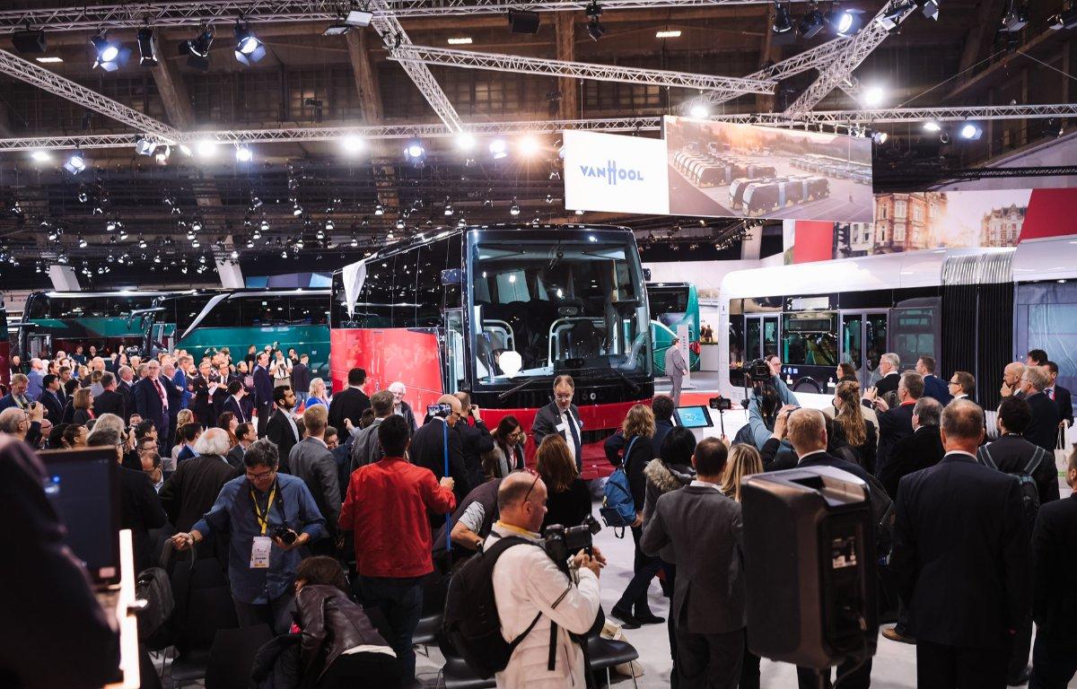 Imagem ilustrativa da notícia: Na Busworld o ônibus foi o menos importante