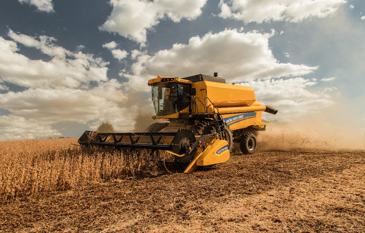 Imagem ilustrativa da notícia: New Holland apresenta nova geração das colheitadeiras TC e TX