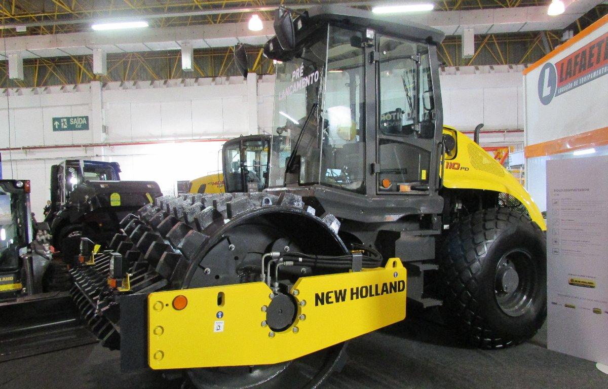 Imagem ilustrativa da notícia: New Holland inicia pré-venda de rolo compactador