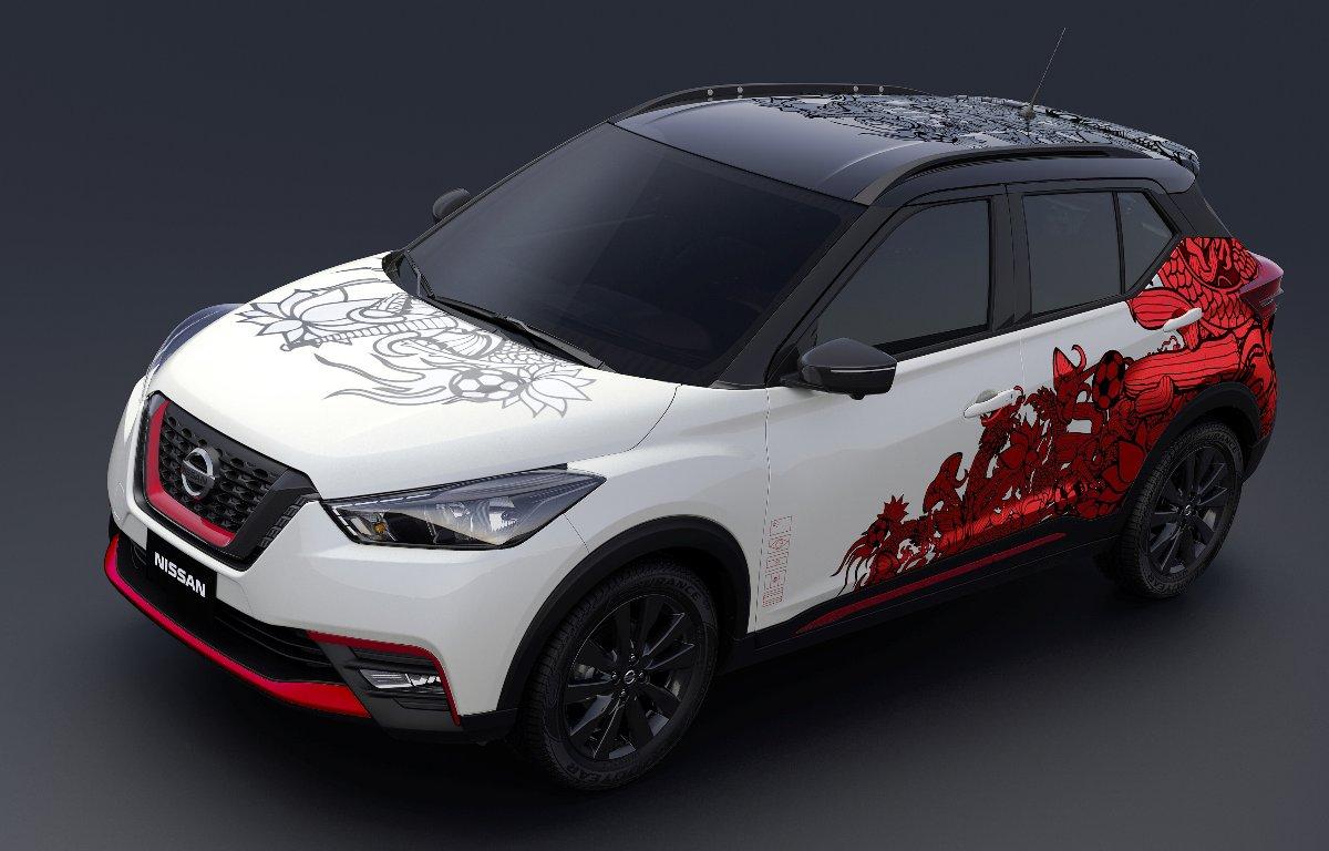 Imagem ilustrativa da notícia: Conceito comemora os três anos do Nissan Kicks