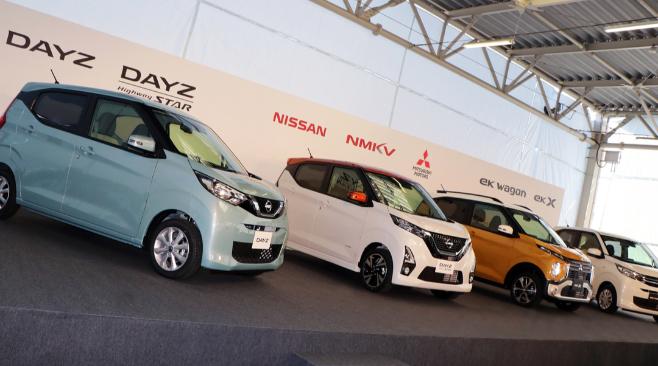 Imagem ilustrativa da notícia: Nissan e Mitsubishi lançam minicarros no Japão