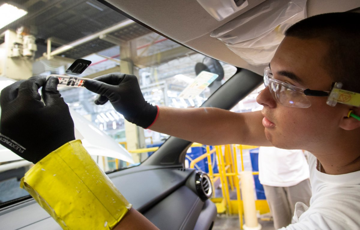 Imagem ilustrativa da notícia: Nissan Kicks sai de fábrica com Sem Parar
