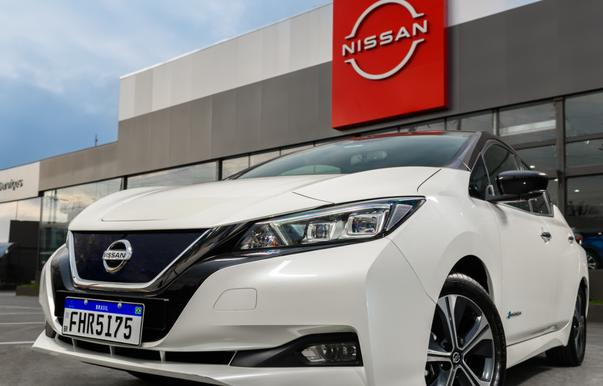 Imagem ilustrativa da notícia: Nissan traça meta de ser líder em elétricos no Brasil
