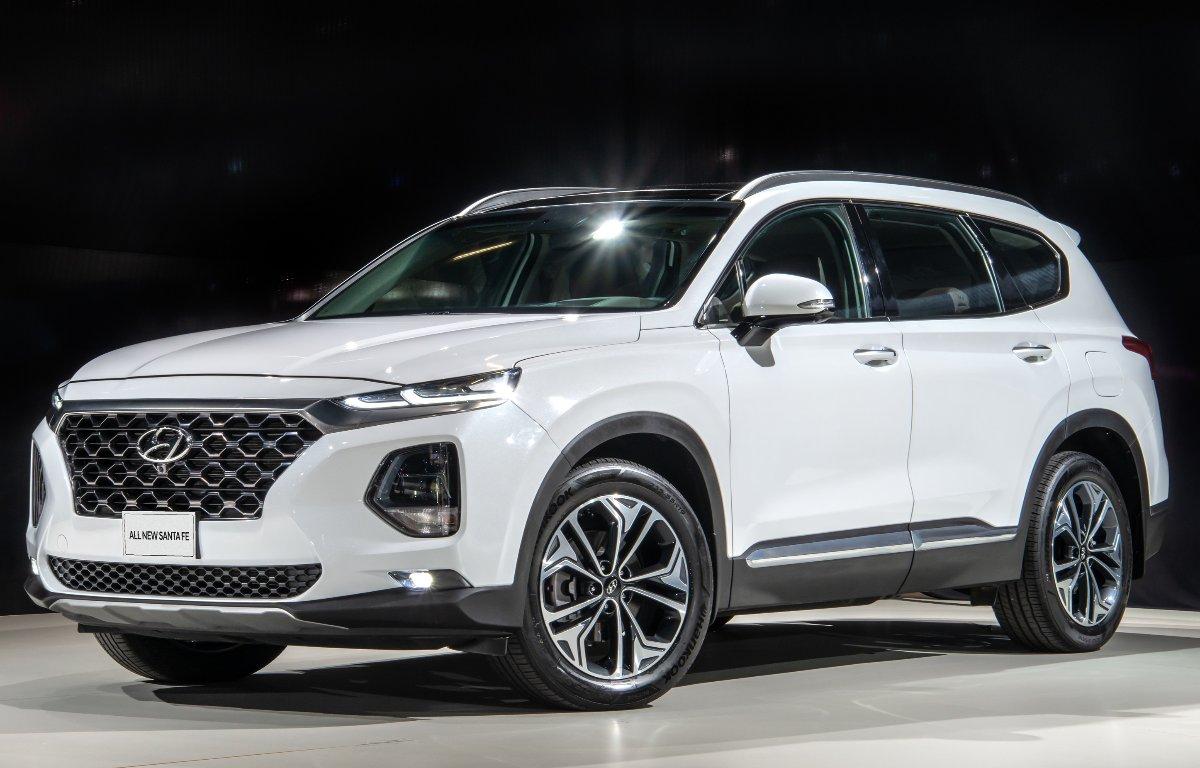 Imagem ilustrativa da notícia: Nova geração do Hyundai Santa Fe chega ao Brasil