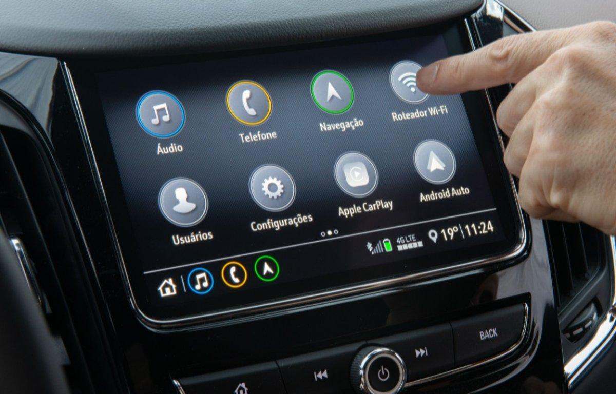 Imagem ilustrativa da notícia: Chevrolet Cruze oferece conexão à internet