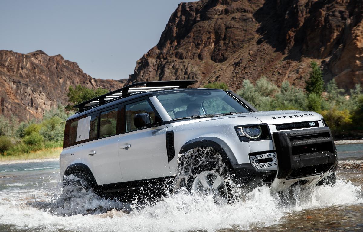 Imagem ilustrativa da notícia: Iniciadas as vendas do novo Land Rover Defender