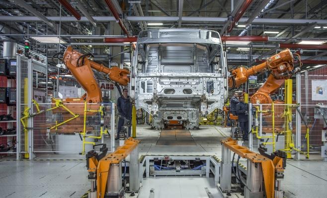 Imagem ilustrativa da notícia: Fábrica de cabines da Volvo completa 20 anos no Brasil