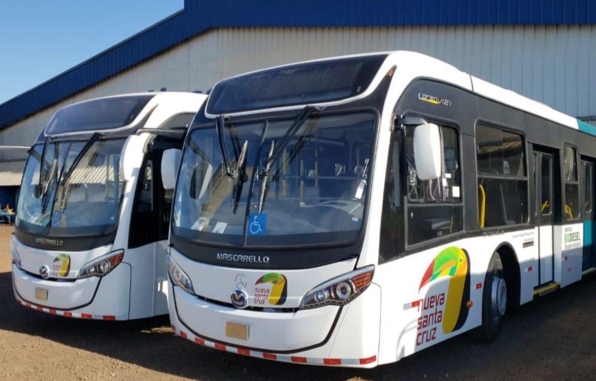 Imagem ilustrativa da notícia: Ônibus Mercedes-Benz estreiam em Nueva Santa Cruz
