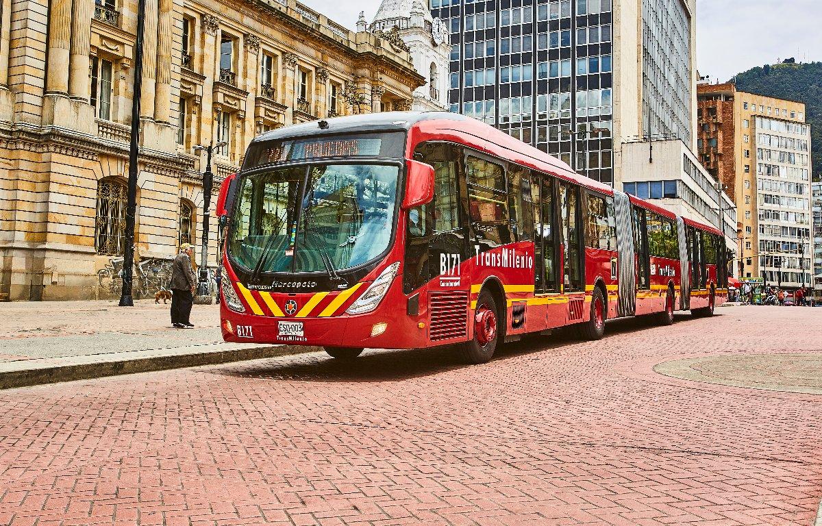 Imagem ilustrativa da notícia: Ônibus Volvo começam a circular na Colômbia