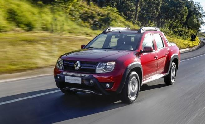 Imagem ilustrativa da notícia: Renault Oroch brasileira chega ao Chile