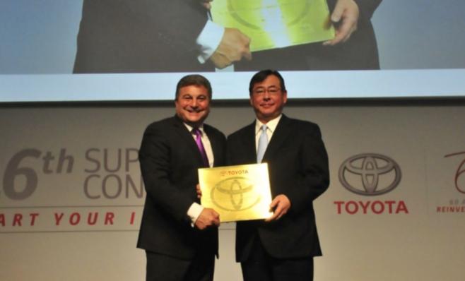 Imagem ilustrativa da notícia: Prêmio Toyota para 21 fornecedores