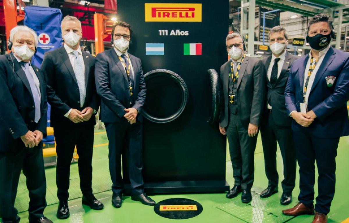 Imagem ilustrativa da notícia: Pirelli inaugura linha de pneus para motocicletas na Argentina