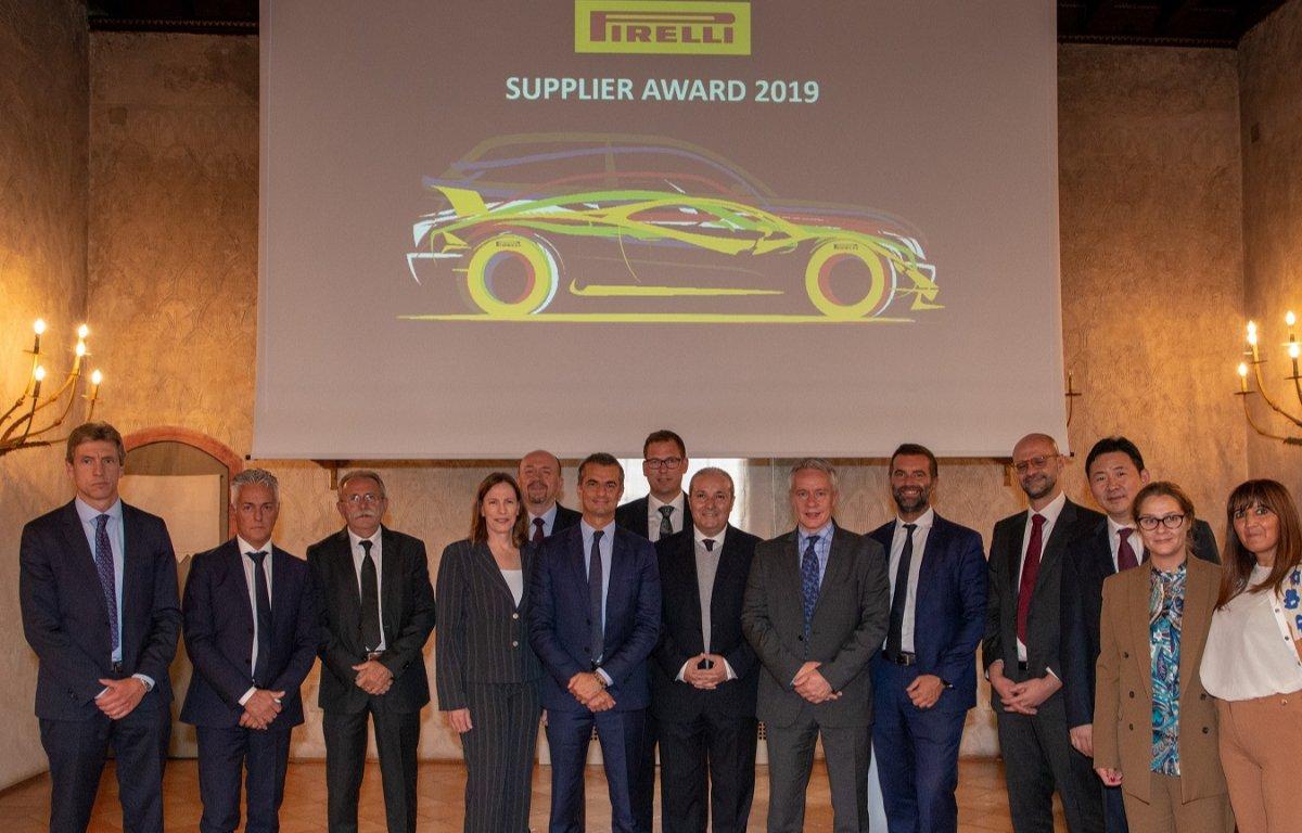 Imagem ilustrativa da notícia: Pirelli premia seus nove melhores fornecedores globais