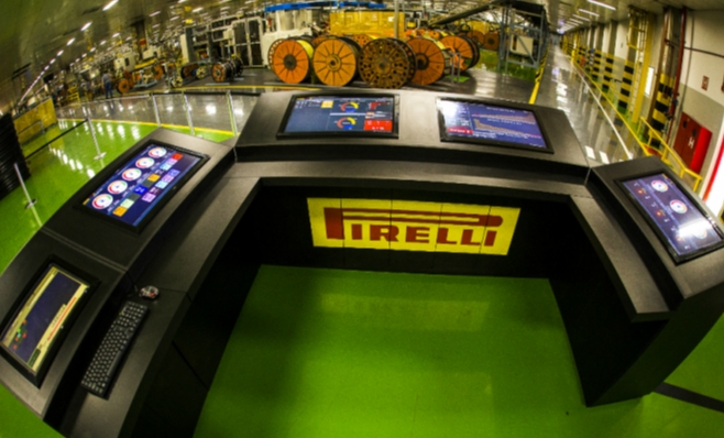 Imagem ilustrativa da notícia: Pirelli investe para conectar produção