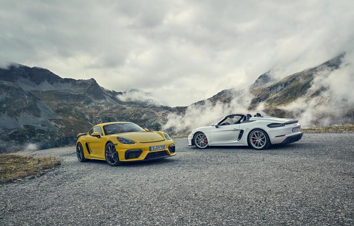 Imagem ilustrativa da notícia: Porsche 718 tem duas novas versões no Brasil