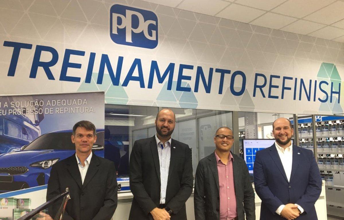Imagem ilustrativa da notícia: PPG reinaugura centro de treinamento de repintura