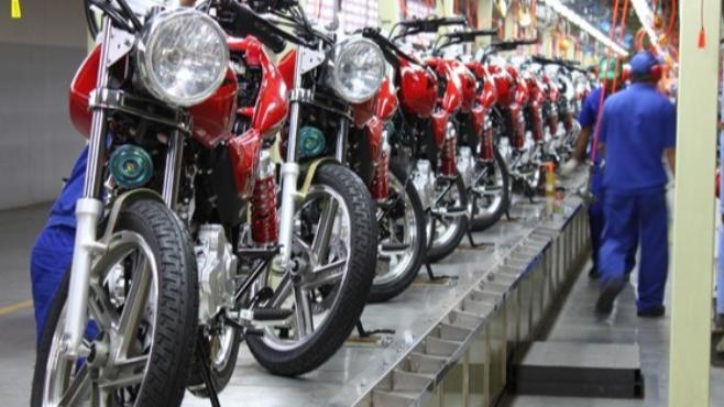 Imagem ilustrativa da notícia: Produção de motocicletas avança 12% no bimestre