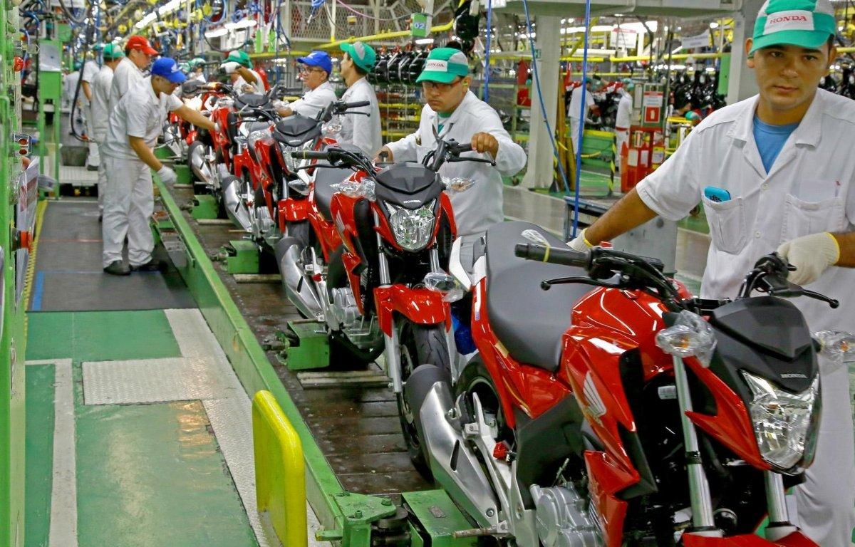 Imagem ilustrativa da notícia: Produção de motocicletas cresceu 11% no mês passado