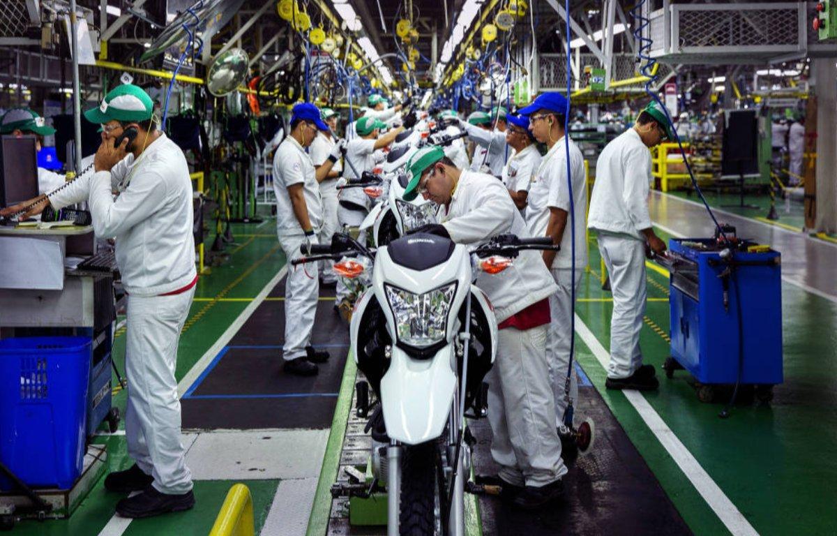 Imagem ilustrativa da notícia: Ritmo das fábricas de motocicletas não acompanha o do varejo
