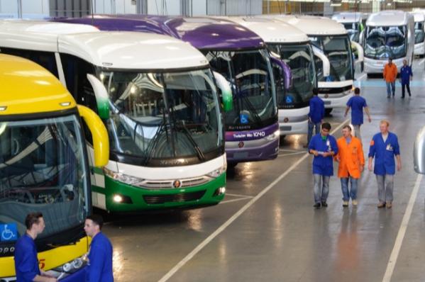 Imagem ilustrativa da notícia: Chassis de ônibus: produção 38% maior.