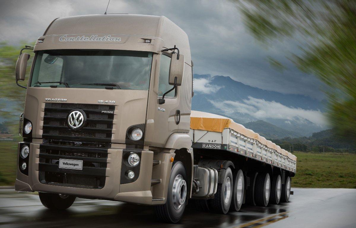 Imagem ilustrativa da notícia: Produção do VW Constellation atinge 230 mil unidades