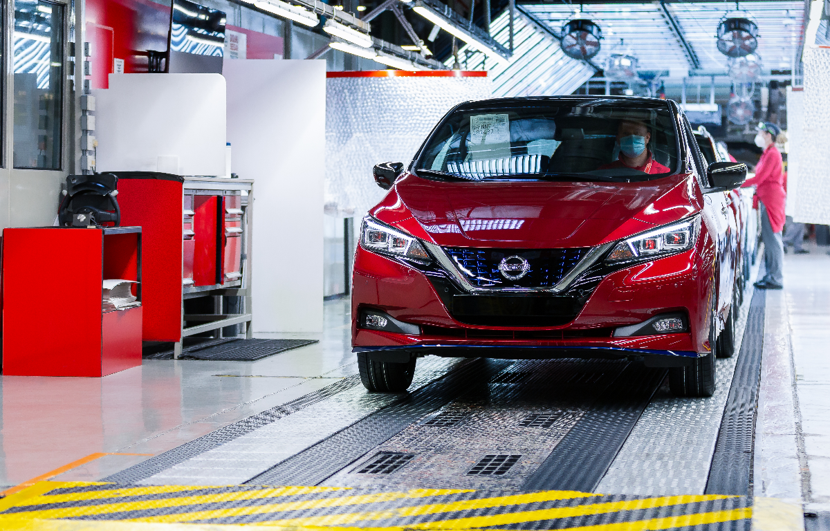 Imagem ilustrativa da notícia: Nissan Leaf alcança 500 mil unidades produzidas