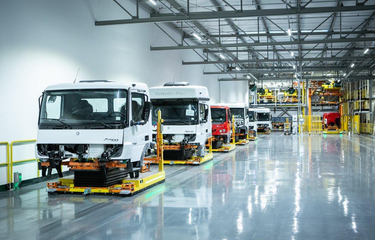 Imagem ilustrativa da notícia: Greve geral prejudicou a produção de veículos