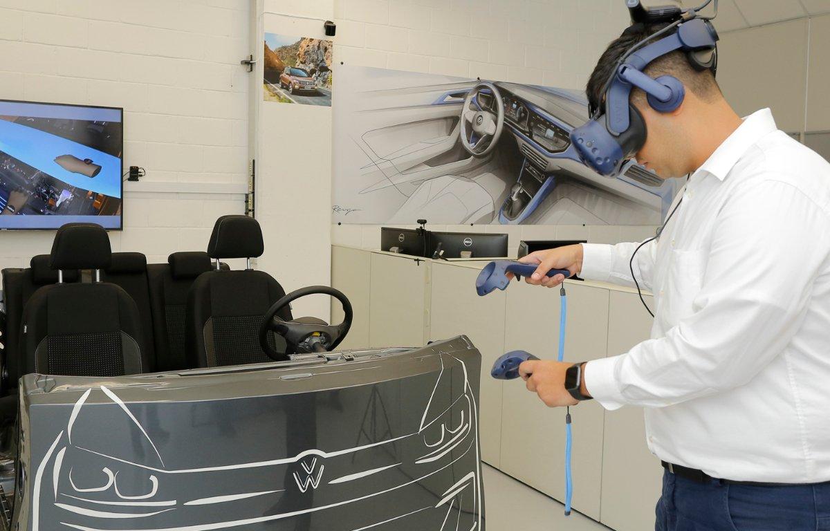Imagem ilustrativa da notícia: Protótipos na Volkswagen agora são virtuais