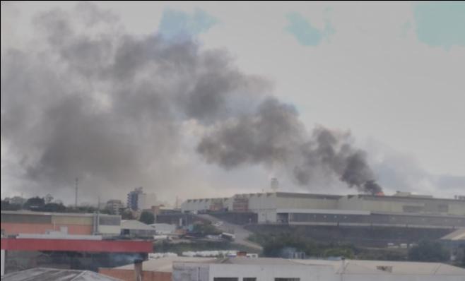 Imagem ilustrativa da notícia: Incêndio atinge unidade de pintura de fábrica Randon
