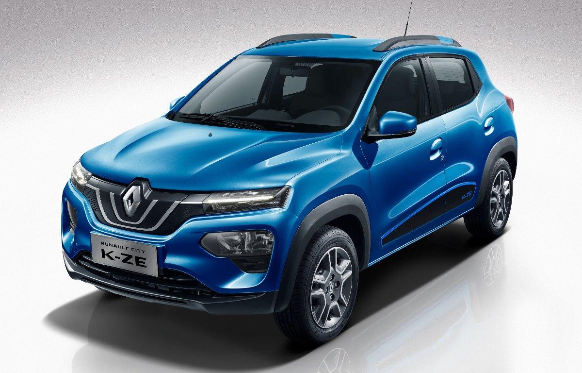 Imagem ilustrativa da notícia: Renault apresenta Kwid elétrico na China