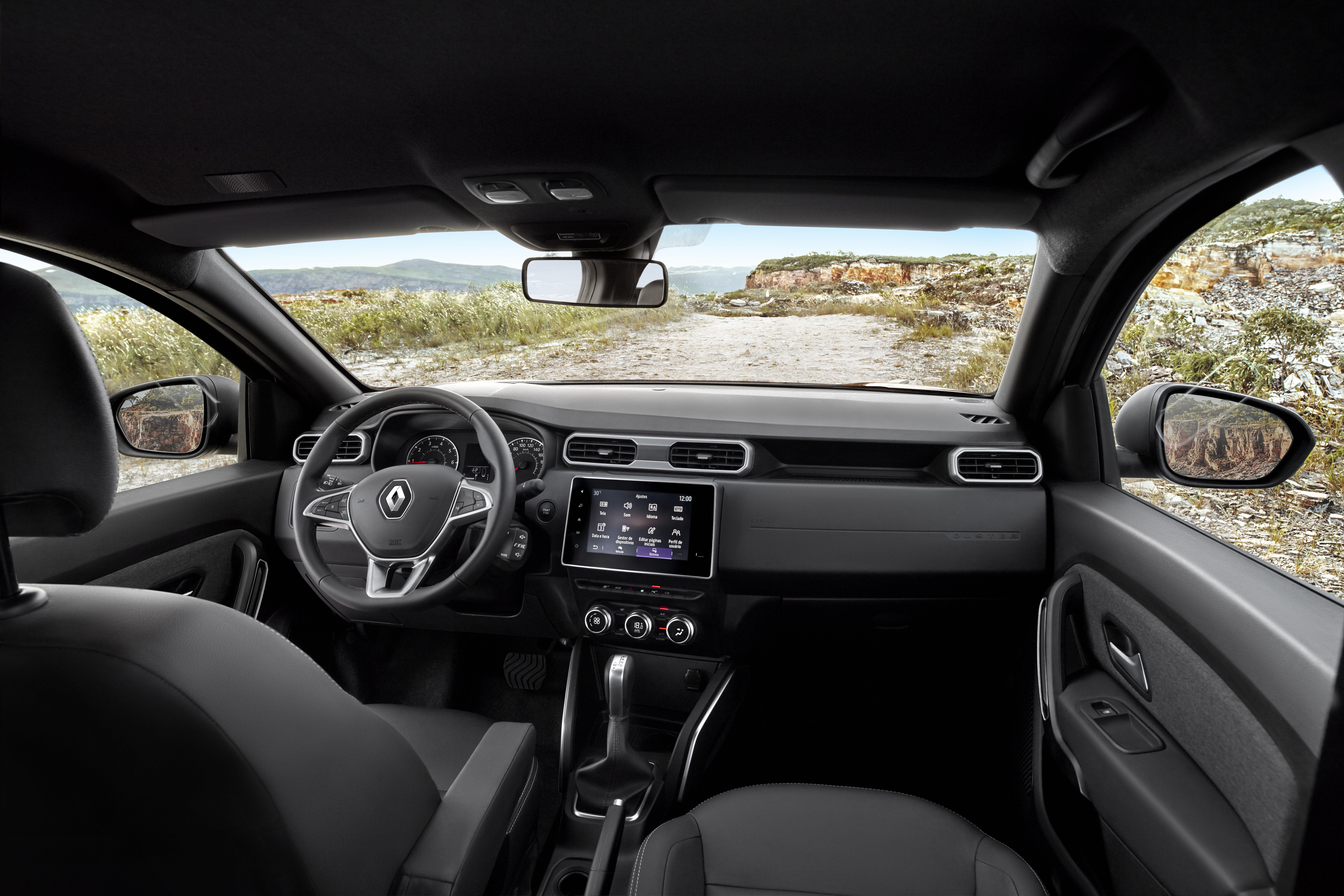 Imagem ilustrativa da notícia: Renault divulga fotos do novo Duster