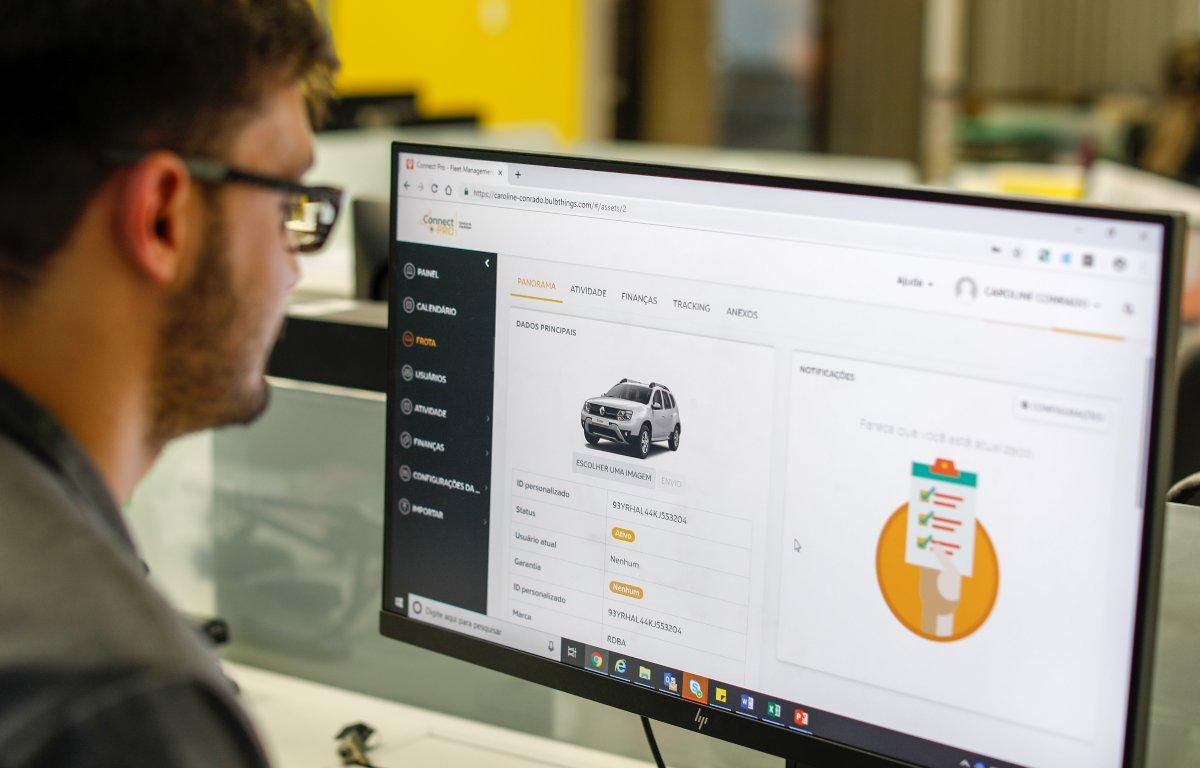 Imagem ilustrativa da notícia: Renault lança seu sistema de gestão de frota