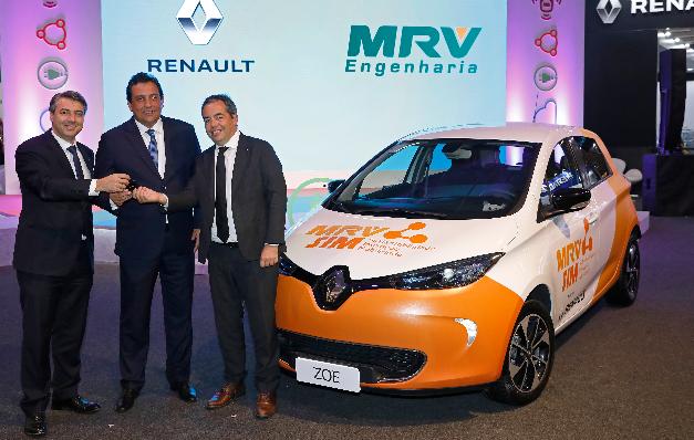 Imagem ilustrativa da notícia: Renault: 1 mil carros elétricos na América Latina.