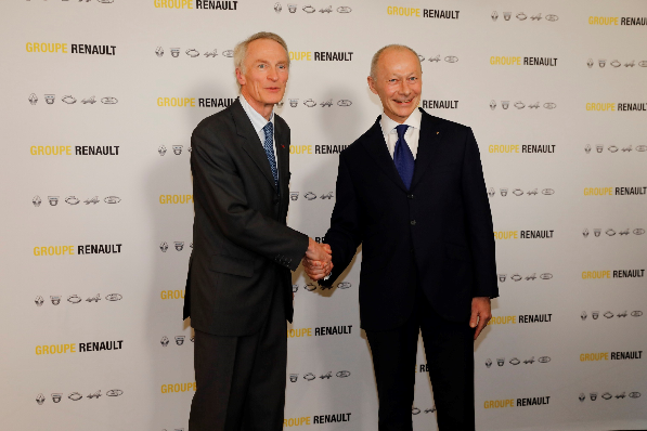 Imagem ilustrativa da notícia: Renault nomeia novos presidente e CEO