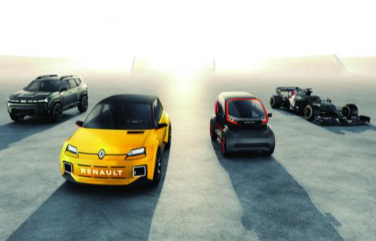 Imagem ilustrativa da notícia: Renaulution, um revival Renault