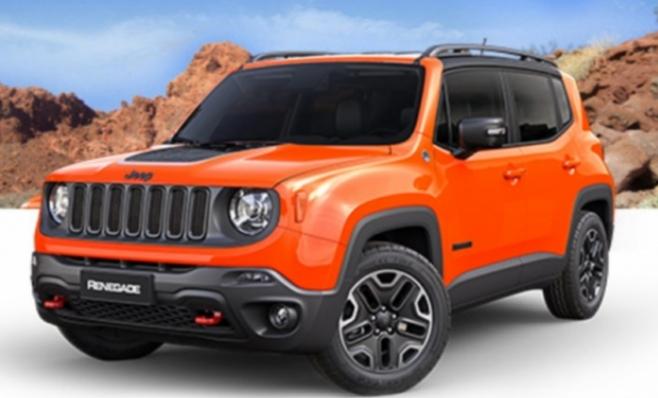 Imagem ilustrativa da notícia:  FCA pode lançar versão menor do Jeep Renegade