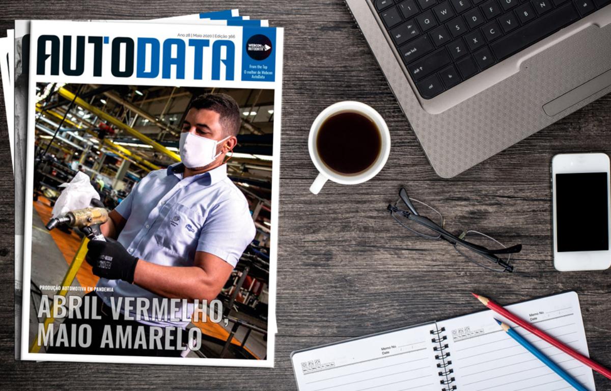 Imagem ilustrativa da notícia: Revista AutoData 366 está no ar